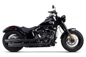 WYDECH TWO BROTHERS HD 13-16 Softail Breakout Comp-S Dual Slip-on
