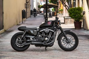 WYDECH TWO BROTHERS HD Sportster 14-18 Comp-S 2-1 Ceramic Black