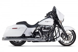 WYDECH TWO BROTHERS Harley Davidson 2017 Touring Comp-S Dual Slip-On