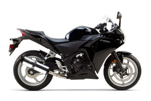 WYDECH TWO BROTHERS HONDA CBR 250 R 11-14 Carbon Slip-On