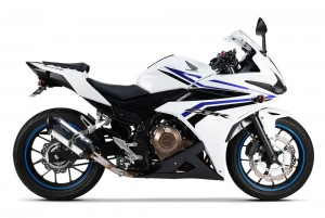 WYDECH TWO BROTHERS HONDA CBR500R 16- S1R Slip-On