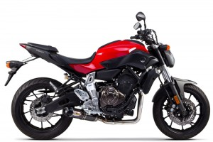 WYDECH TWO BROTHERS YAMAHA FZ-07 S1R Full System